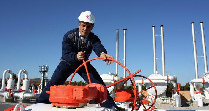 Turkey gas pipeline