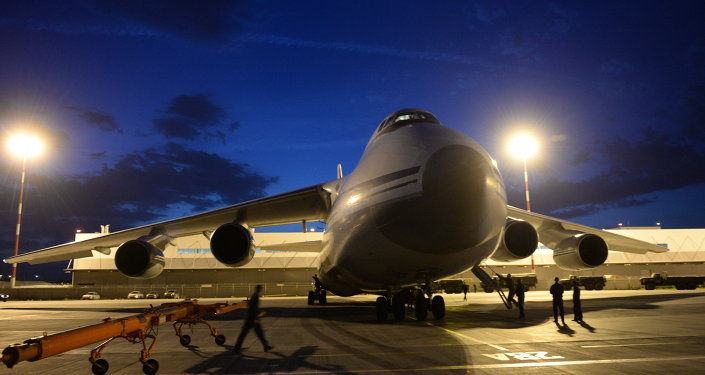 The cargo airplane, an Antonov 124, had a regular flight plan from Bangui to Ndjamena, French Embassy in Nigeria said