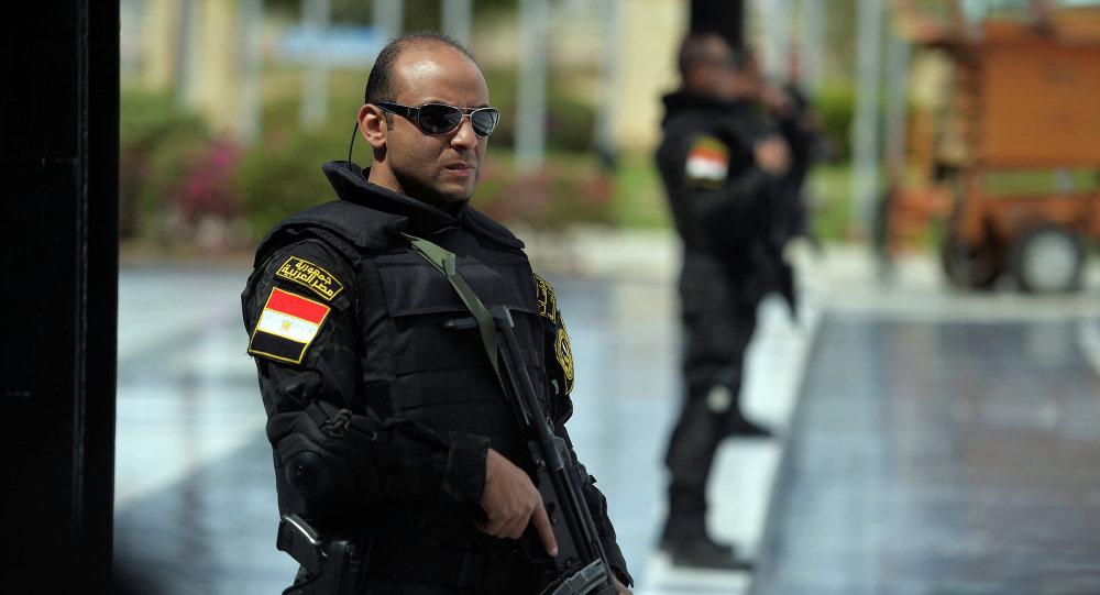 Egyptian police. File photo