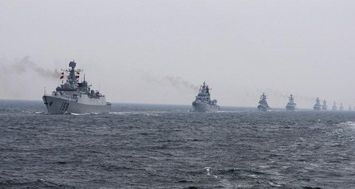 Chinese Navy warships