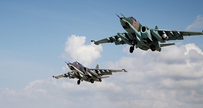 Russian military aviation at Khmeimim airbase in Syria