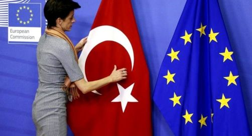 The Flag of Turkey Loved By The Patriotic Turks and the EU