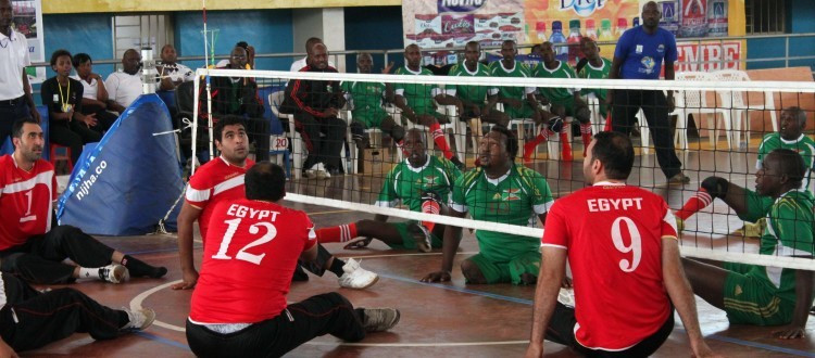 Egypt's men's team have proved unstoppable in the men's ParaVolley Africa Sitting Volleyball Championships thus far ©Rwanda ParaVolley