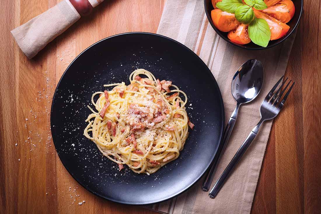 espaguetis carbonara 1