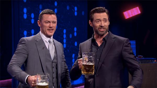 WATCH: Luke Evans And Hugh Jackman Have A Gaston Sing-Off ...