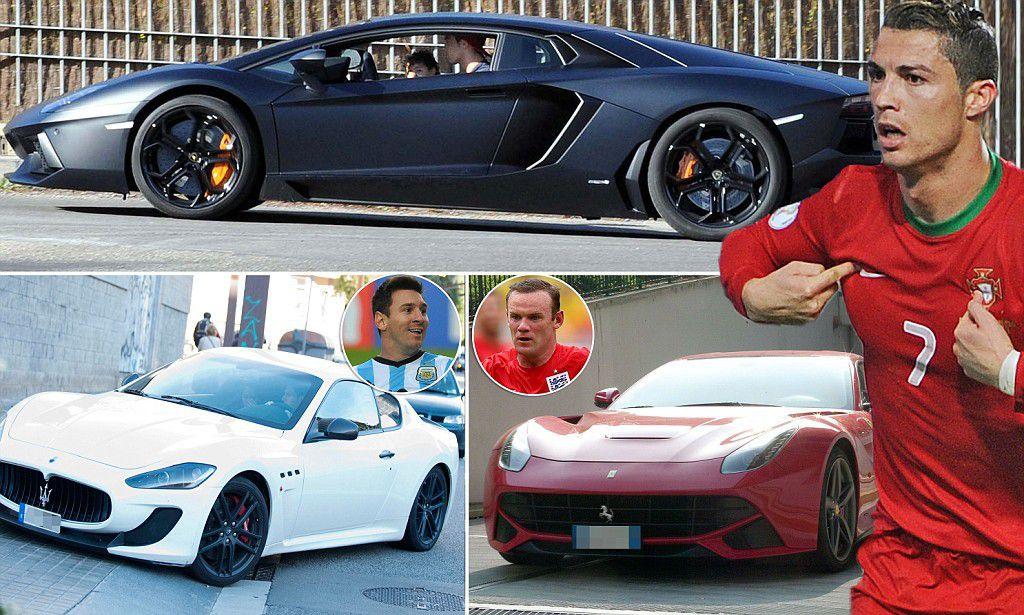 Cristiano Messi Car Ronaldo