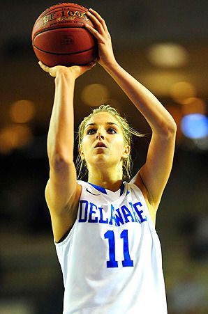 Definitely the hottest female college basketball player ...