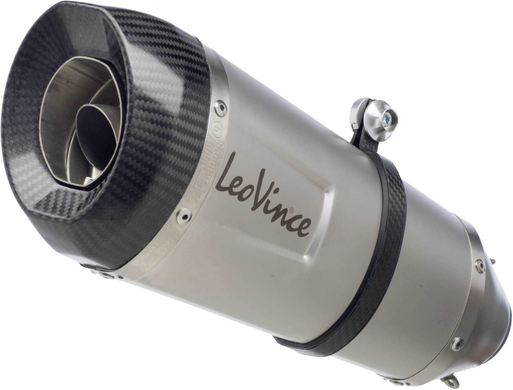 leovince factory s exhaust system stainless steel with eg be