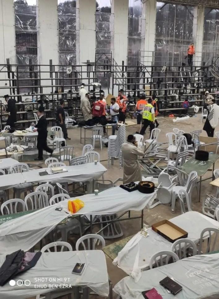 قتيلان- عشرات الإصابات بانهيار مدرج في كنيس يهودي بالقدس (فيديو)