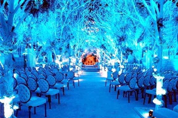 фуршет на свадьбе зимой