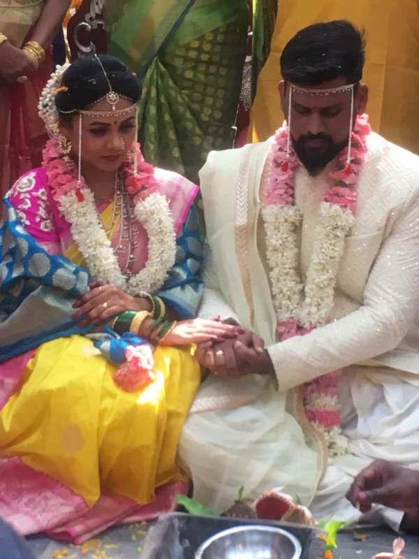 Prarthana Behere Actress Marriage Wedding Photos Abhishek