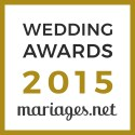 Fanny Reynaud Photographe, gagnant Wedding Awards 2015 mariages.net