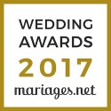 Mariposa Photographe, gagnant Wedding Awards 2017 mariages.net