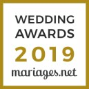 Photosetmariage - Caroline Blumberg, gagnant Wedding Awards 2019 Mariages.net