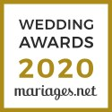 Carine Sarrailh, gagnant Wedding Awards 2020 Mariages.net