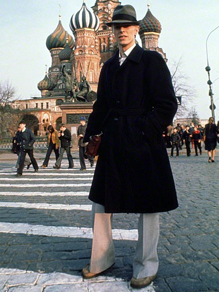 Bowie in Red Square