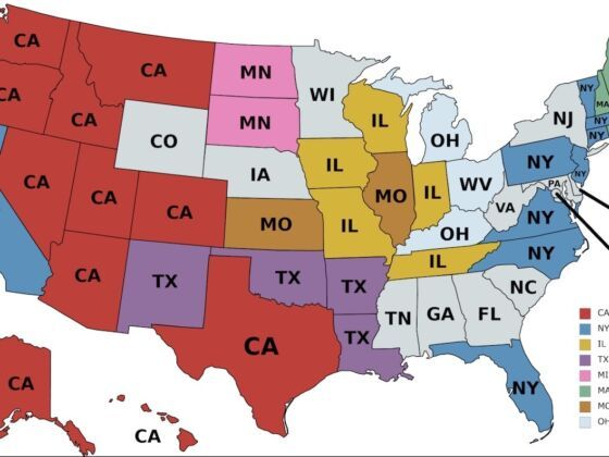The map legend is sometimes called the map key. Where Do Out Of State Residents Come From In Each State