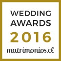 FBAudio, ganador Wedding Awards 2016 matrimonios.cl