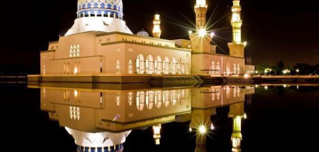 صلاة تحية المسجد - موضوع