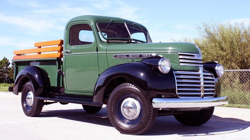 Pickup Restoration Ford 1940