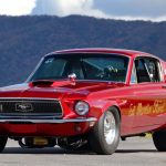 1968 Ford Mustang Race Car T132 Kissimmee 2017