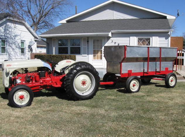 Oil 8n Ford 1951 Gerar Fill Box Tractor