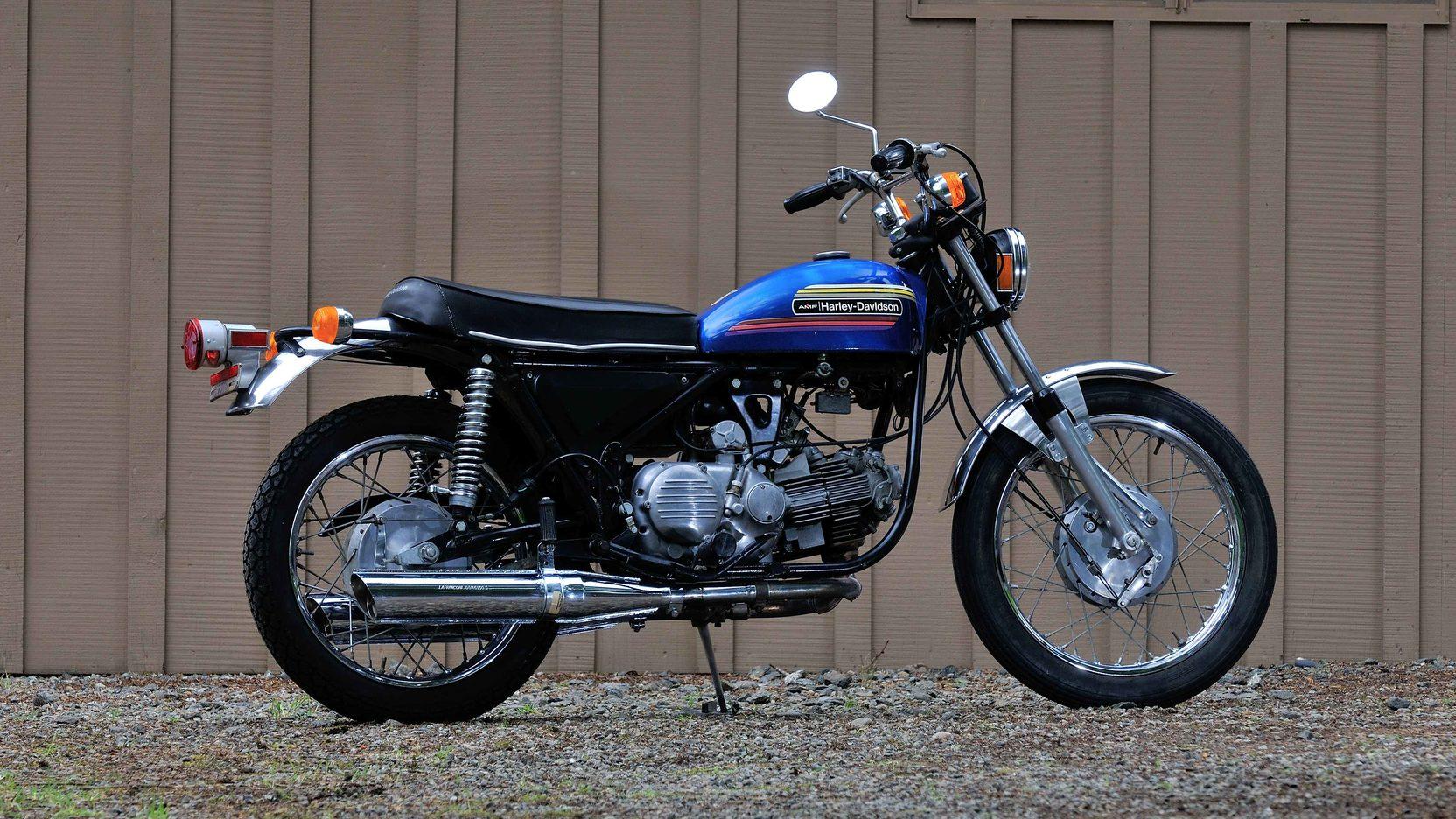 1974 HarleyDavidson SS 350 Sprint | U104 | Harrisburg 2014