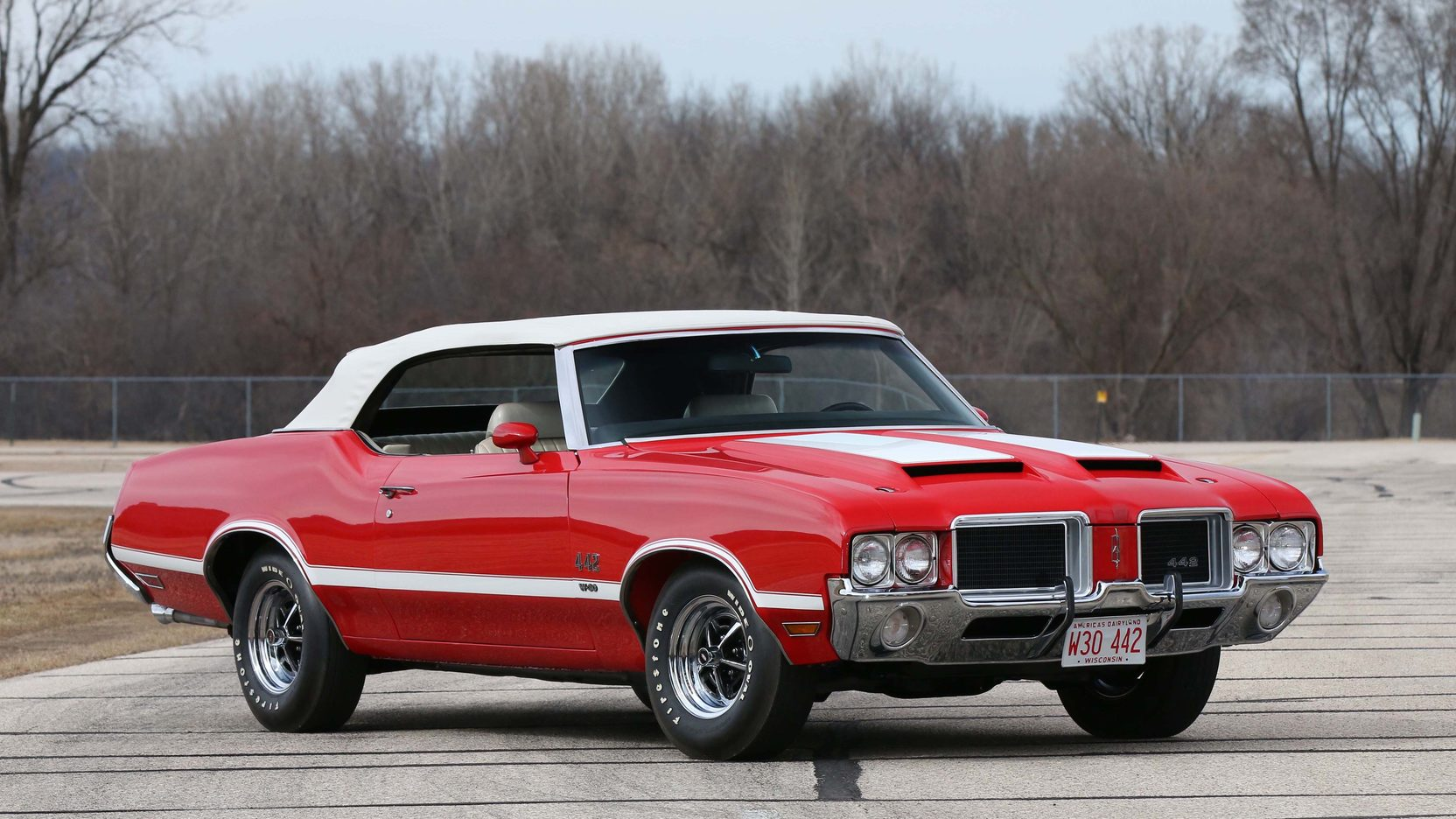 1971 Oldsmobile 442 W 30 Convertible S105 Indy 2015