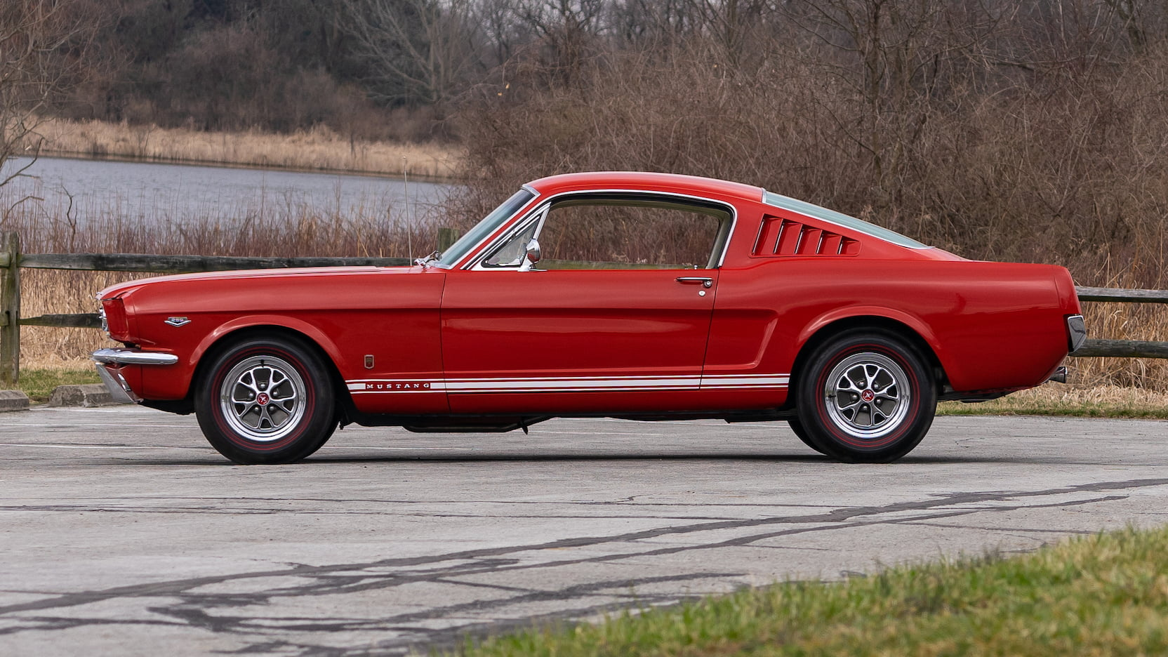 The 1965 model year proved to be a historic year for ford, as the mustang became the fastest selling new car in history, reaching 400,000 units in march. 1965 Ford Mustang Gt Fastback F255 Indy 2019