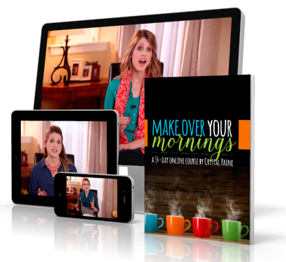 Get the first day of Make Over Your mornings for FREE!