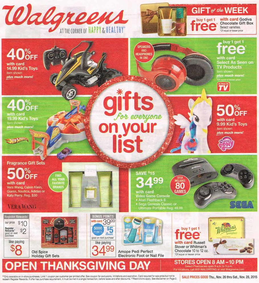 Walgreens Black Friday Ad 2015 Money Saving Mom
