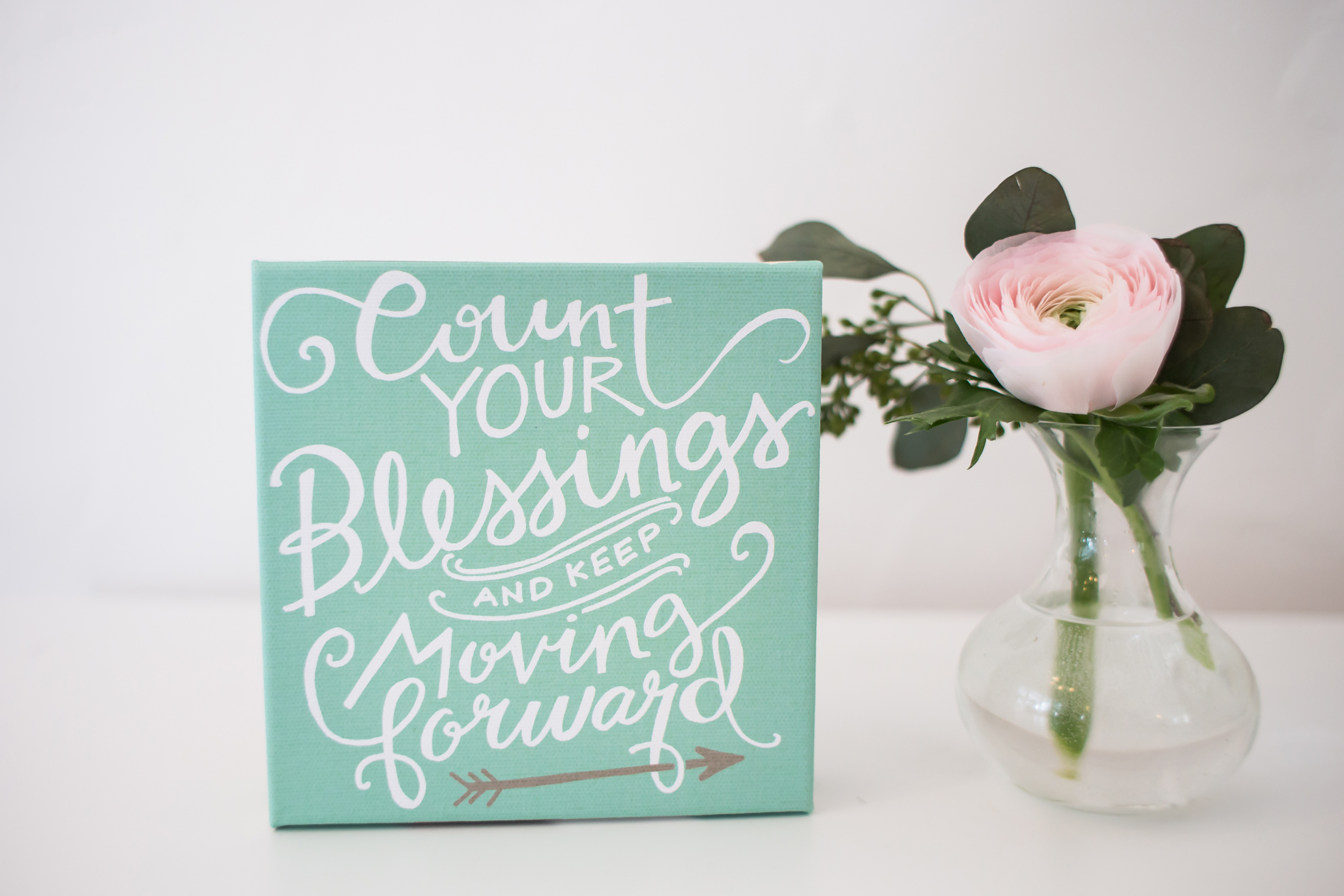 Get our brand new Count Your Blessings canvas for just $9.75 right now!!