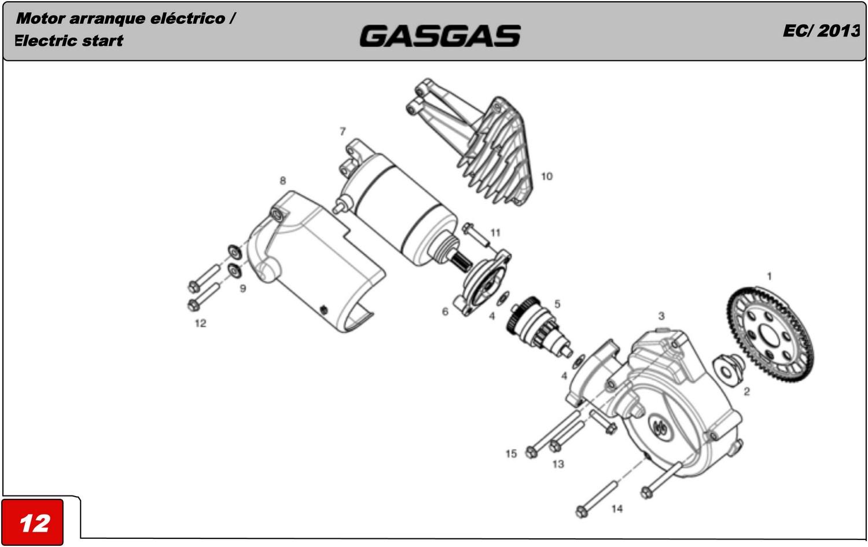 Motor Arranque Electrico