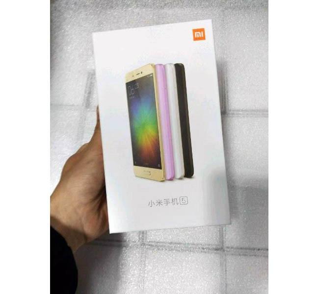 Xiaomi mi5 colores