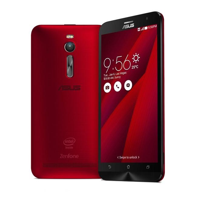 ASUS Zenfone 2 en color rojo
