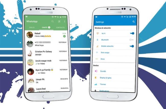 Tema para CyanogenMod 13 basado en la interfaz del Samsung Galaxy S7