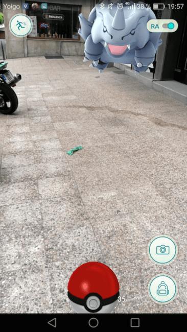Captura Pokémon GO