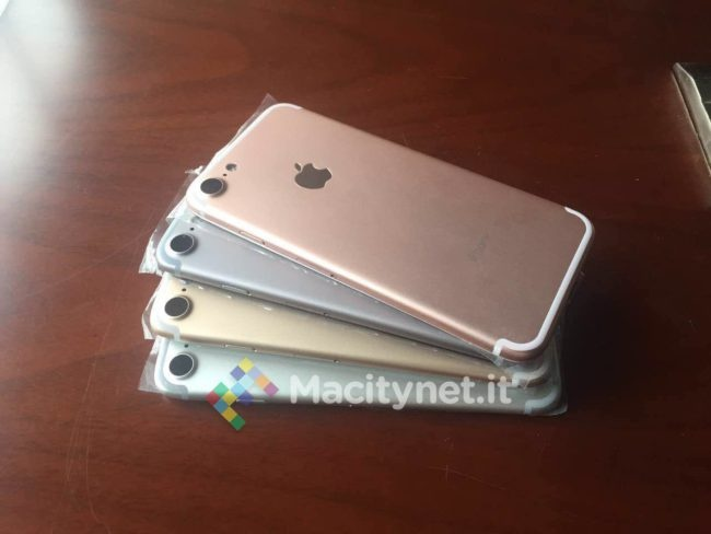 iphone 7 en distintos colores