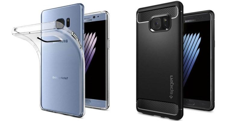 Samsung Galaxy Note 7 accesorios