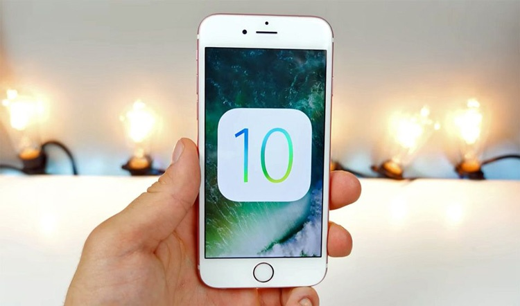 iPhone 6s con iOS 10