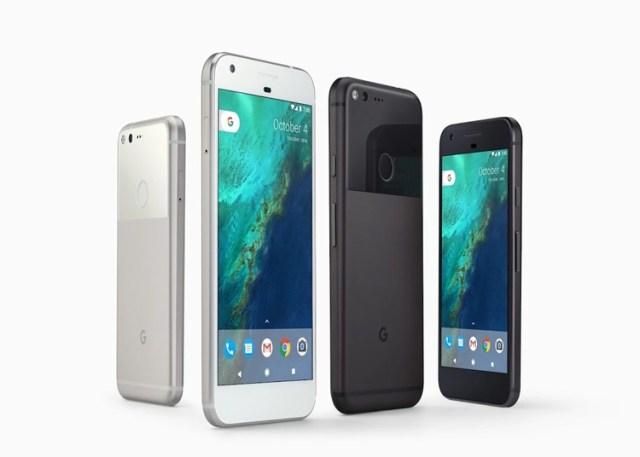 Colores utilizables del Google™ Pixel