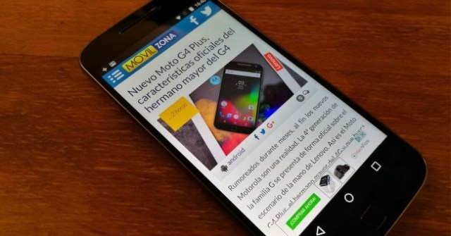 Motorola Moto G4 con ©Android 7.1