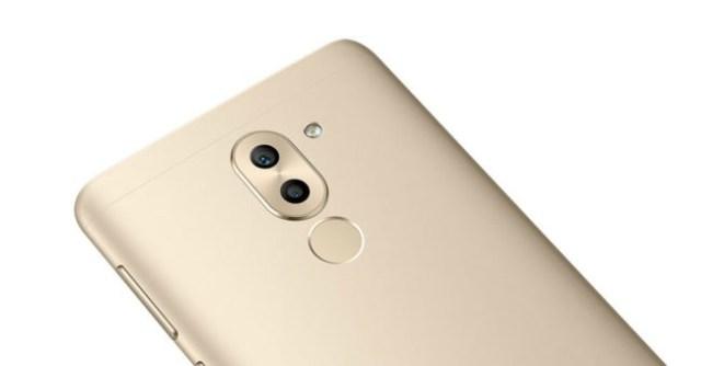 Huawei Mate nueve Lite dorado