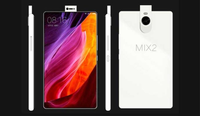 prototipo del Xiaomi Mix 2