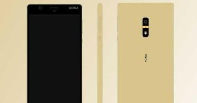 Nokia D1C de colores dorado