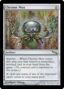 Image result for chrome mox goldfish