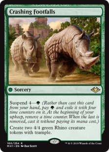Image result for crashing footfalls mtggoldfish