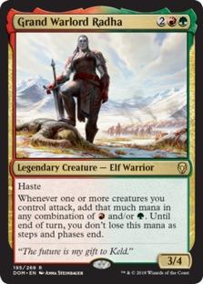 Image result for grand warlord mtggoldfish