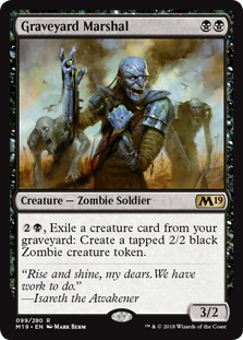 Image result for graveyard marshal mtggoldfish