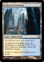 Image result for hallowed fountain mtggoldfish